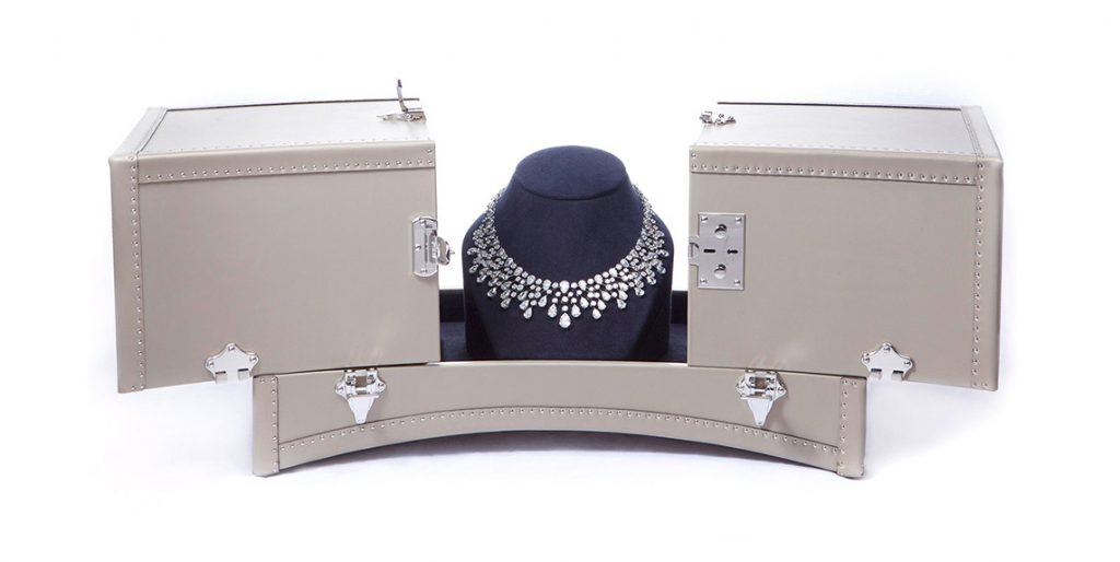 Jewelry trunk for Chaumet